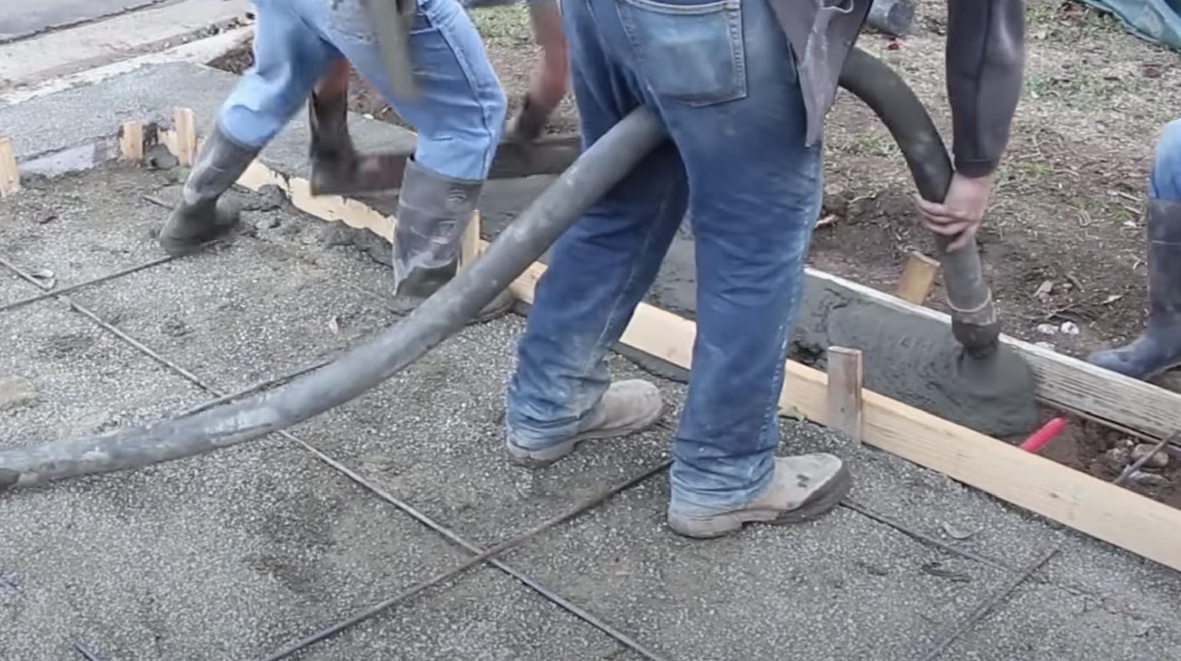 this image shows san francisco concrete pumping